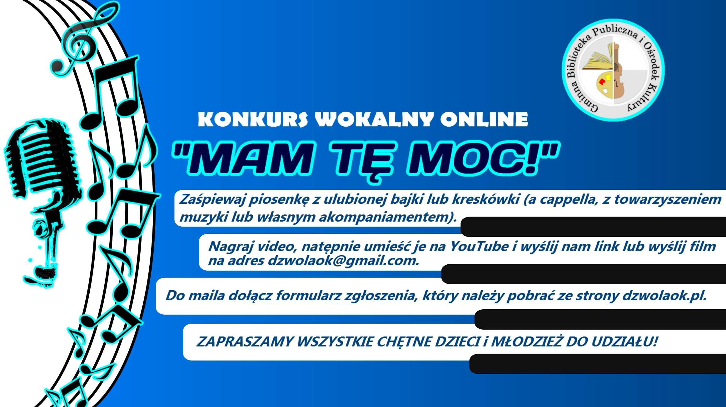 Konkurs wokalny online