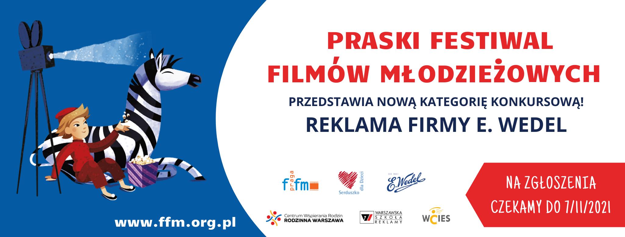 Praski Festiwal Filmów Młodzieżowych – konkurs znagrodami